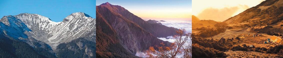 四季為山林披上多彩多姿的面貌
