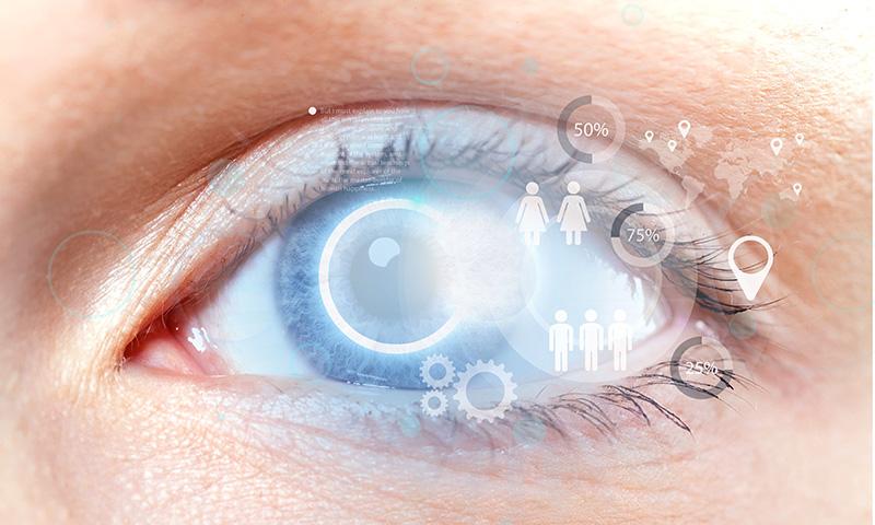 白內障是因水晶體混濁,導致視力障礙的一種疾病,其中又以後天性的老年性白內障為最常見。